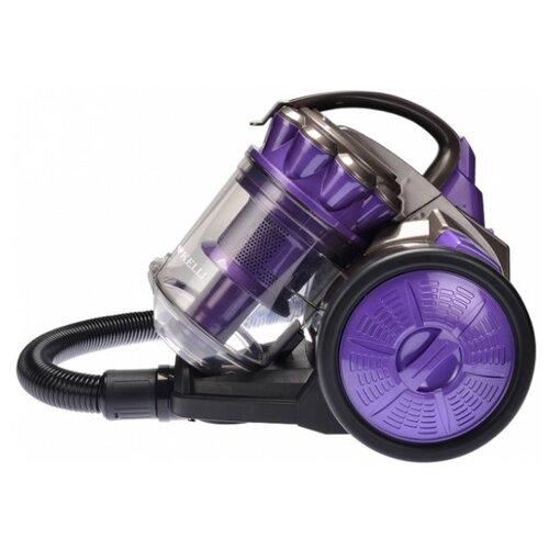 Пылесос Kelli KL-8009 фиолетовый/черный пылесос kelli kl 8010