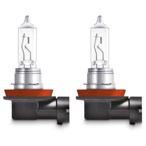 Лампа автомобильная галогенная Osram Night Breaker Silver 64211NBS2 H11 55W 2 шт. лампа галогенная osram h11 original 12v 55w 1 шт