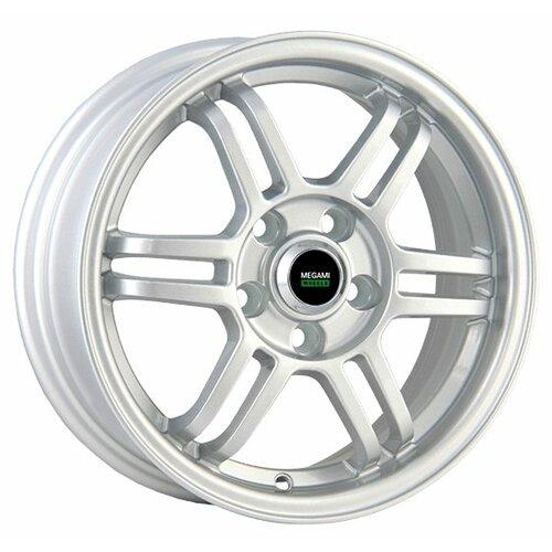 Фото - Колесный диск Megami MGM-8 6x15/4x100 D60.1 ET50 Silver колесный диск megami mgm 4 6x15 4x100 d60 1 et50 silver