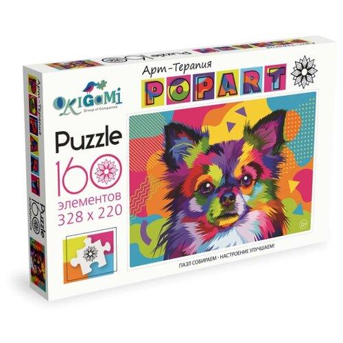 Пазл Origami Арт-терапия Поп-арт Чихуахуа (05555), 160 дет., Пазлы  - купить со скидкой