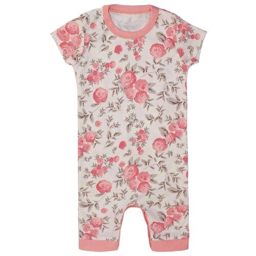 Песочник SafariKids размер 68, бежевый/розовый брюки safarikids best kid размер 92 розовый