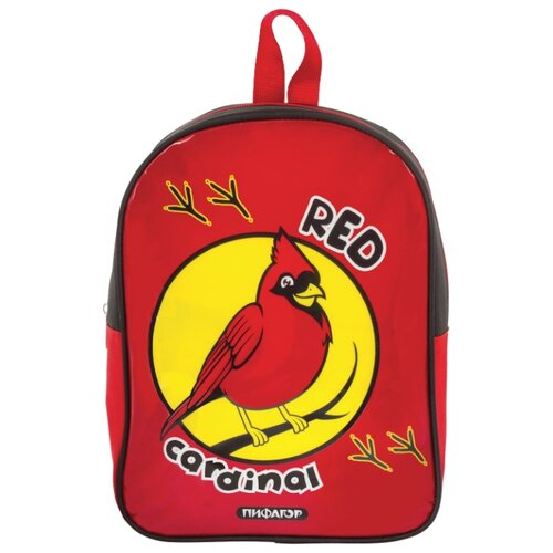 цена на Пифагор Рюкзак Красный кардинал, красный