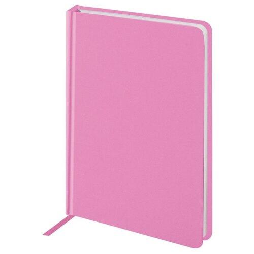 Купить Ежедневник BRAUBERG Select недатированный, А6, 160 листов, розовый, Ежедневники, записные книжки