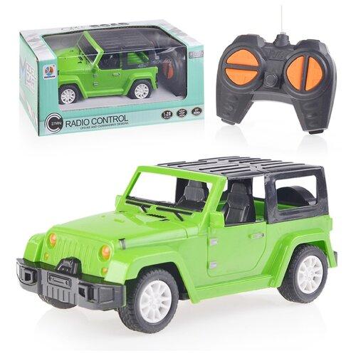 Машинка Oubaoloon 6609-11B 1:28 15.5 см зеленый