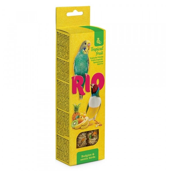 Лакомство для птиц RIO с тропическими фруктами 99774R