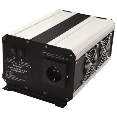 Купить Инвертор СибКонтакт СибВольт 1524 DC-AC черный