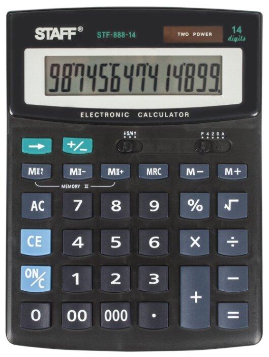 Калькулятор бухгалтерский STAFF STF-888-14