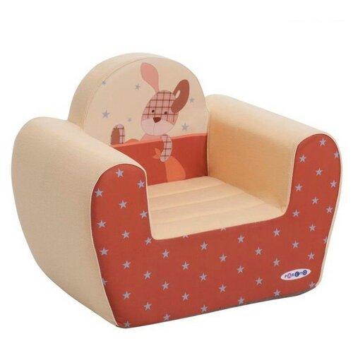 Классическое кресло PAREMO детское PCR317 размер: 54х38 см, обивка: ткань, цвет: Мимими Крошка Зи