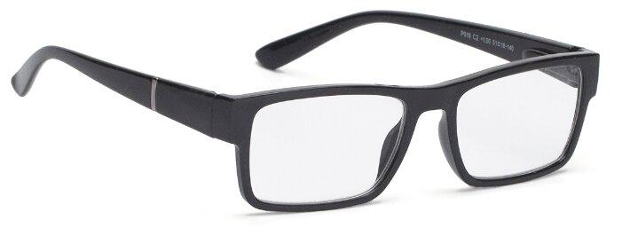 Купить Очки корректирующие Lectio Risus P019, + 3.00, цвет оправы: черный глянцевый по низкой цене с доставкой из Яндекс.Маркета (бывший Беру)