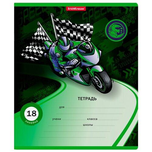 Купить ErichKrause Упаковка тетрадей Motorbike 018010154-46583, 10 шт., линейка, 18 л., Тетради