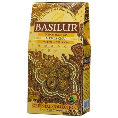 цены Чай черный Basilur Oriental collection Masala chai , 100 г
