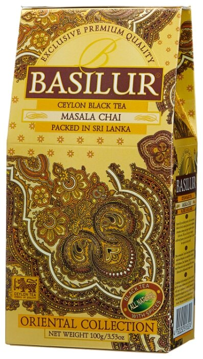 Basilur Tea Company Чай черный Basilur Oriental collection Masala chai