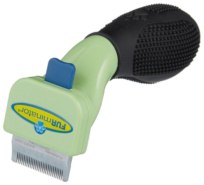 Фурминатор FURminator для короткошерстных собак карликовых пород 3 см