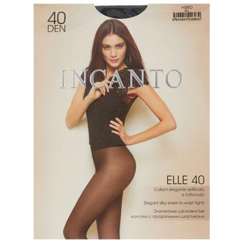 Колготки Incanto Elle 40 den, размер 4, nero