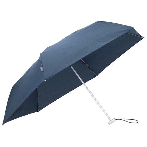цена на Зонт механика Samsonite Alu Drop S (6 спиц, маленькая ручка) синий