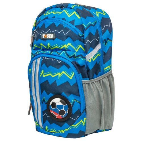 Tiger Enterprise Рюкзак Lively Zigzag, синий школьные рюкзаки mojo pax рюкзак tiger