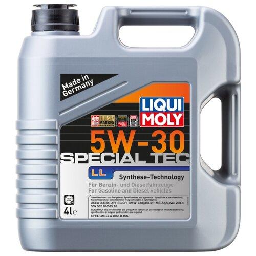 цена на Моторное масло LIQUI MOLY Special Tec LL 5W-30 4 л