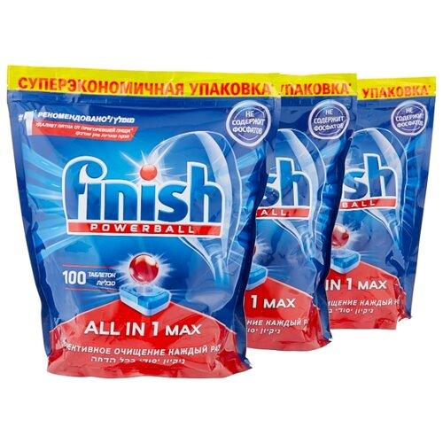 Finish All in 1 Max таблетки (original) для посудомоечной машины, 300 шт.