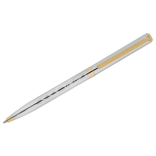 DELUCCI Ручка шариковая Tempo, 0.7 мм, синий цвет чернил delucci ручка шариковая taglia синий цвет чернил