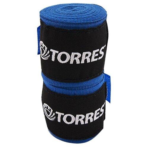 Бинты боксерские TORRES, синий, 2.5 м x 5.0 см (PRL619016BU)
