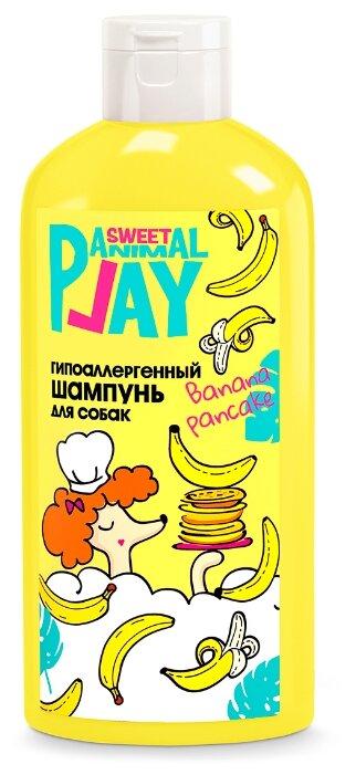 Шампунь Animal Play Гипоаллергенный Банановый панкейк для собак (300 мл)
