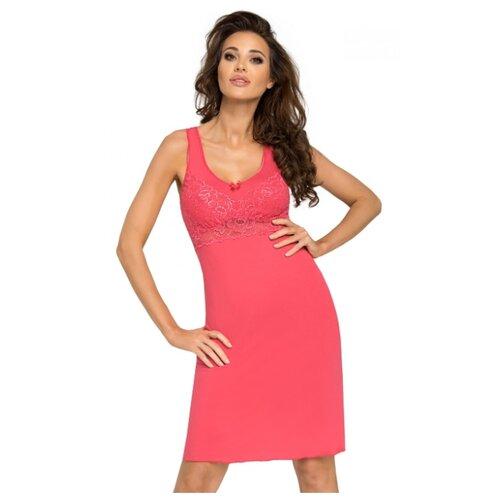Сорочка Donna, размер XXL, коралловый сорочка donna размер xxl бордовый