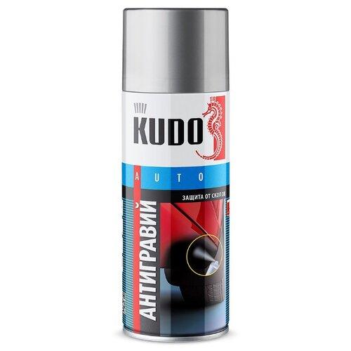 Жидкий антигравий KUDO KU-5221-5223 серый 0.52 л баллончик