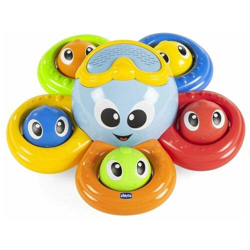 Купить Игрушка для ванны Chicco Осьминог 6м+, Игрушки для ванной
