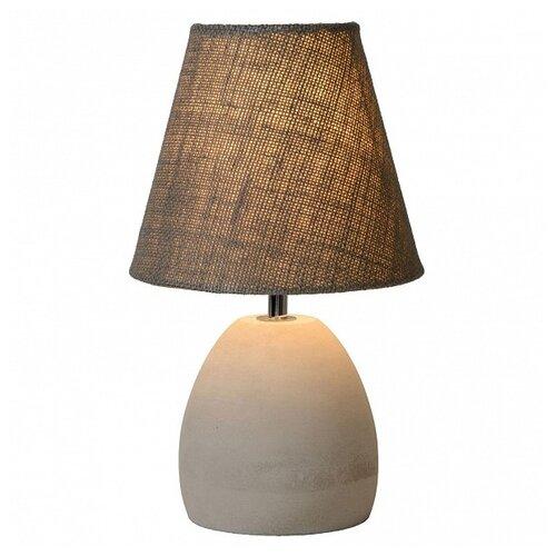 Настольная лампа Lucide Solo 34502/81/41, 40 Вт настольная лампа lucide banker 17504 01 11