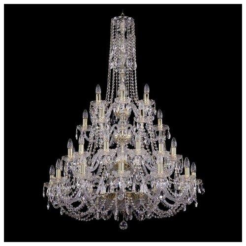 Люстра Bohemia Ivele Crystal 1406 1406/12+12+6+6/300/4d/G, E14, 1440 Вт bohemia ivele crystal 1406 24 12 12 6 530 230 4d g