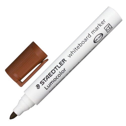 Фото - Staedtler Маркер для доски Lumicolor, 2 мм (351), коричневый маркер для доски staedtler 301 5 1 мм зеленый