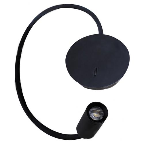 Спот Donolux KAA W111043/1 black бра donolux w110218 2grey