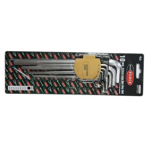 Набор имбусовых ключей Rock FORCE (10 предм.) RF-5102XL набор имбусовых ключей rock force 9 предм rf 5093xls