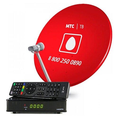 Комплект спутникового ТВ МТС Avit S2-4900 с картой доступа