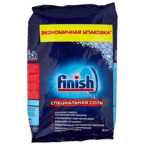 Finish Соль для защиты от накипи для посудомоечных машин 3 кг ludwik соль для посудомоечных машин 1 5 кг