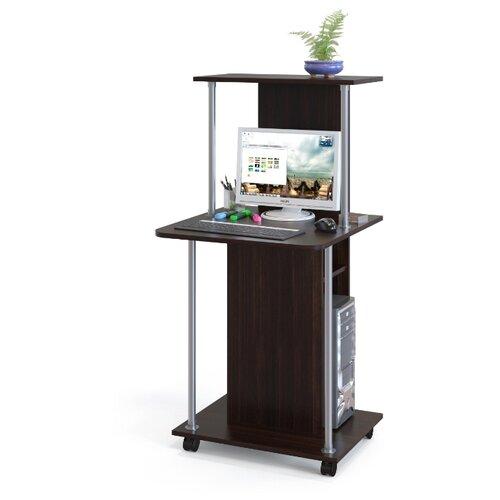 Компьютерный стол СОКОЛ КСТ-12, ШхГ: 60х60 см, цвет: венге