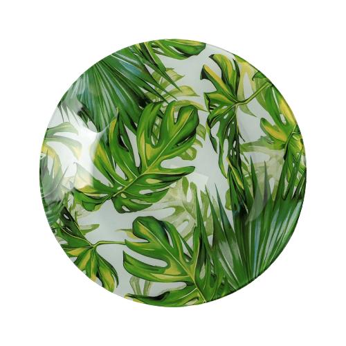 Доляна Тарелка десертная Папоротник 20 см зеленый tescoma тарелка десертная opus 20 см