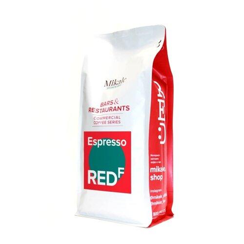 Кофе в зернах Mikale Bars&Restaurants Espresso RED F, арабика/робуста, 1000 г