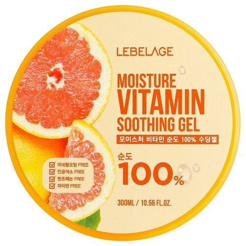 Купить Гель для тела Lebelage Moisture Vitamin Soothing Gel увлажняющий успокаивающий, 300 мл