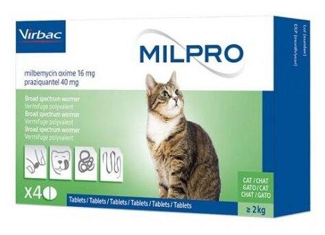 Virbac Мильпро кэт таблетки для кошек