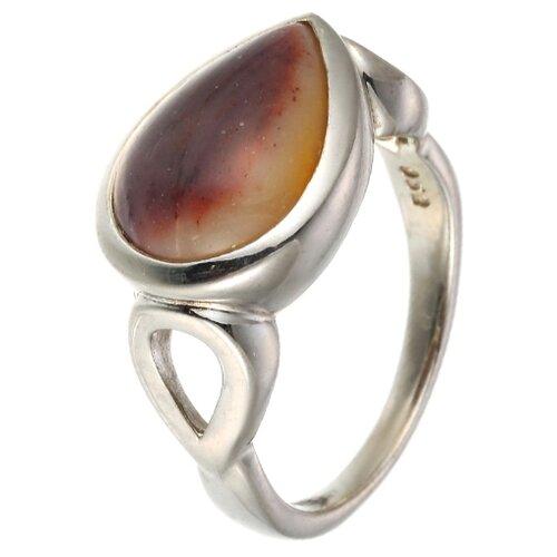 Фото - ELEMENT47 Кольцо из серебра 925 пробы с яшмой NRI272_MK_MK_WG, размер 17.25 balex кольцо 1432930201 из серебра 925 пробы с яшмой размер 17