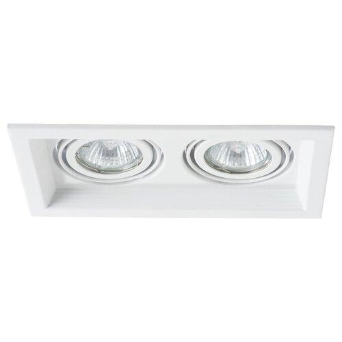 цена на Встраиваемый светильник Arte Lamp A6661PL-2WH