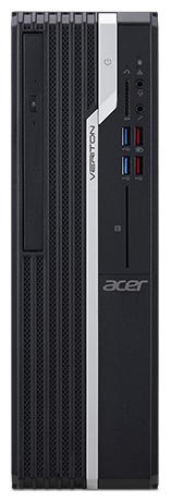 Настольный компьютер Acer Veriton X2665G (DT.VSEER.00R) Mini-Tower/Intel Core i3-8100/8 ГБ/500 ГБ HDD/Intel UHD Graphics 630/DOS
