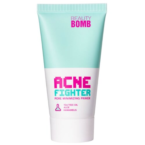 BEAUTY BOMB Праймер для лица Acne Fighter Pore Minimizer 20 мл зеленый guerlain pore minimizer средство для уменьшения пор