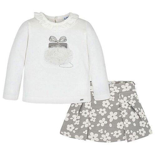 Купить Комплект одежды Mayoral размер 98, кремовый/серый, Комплекты и форма