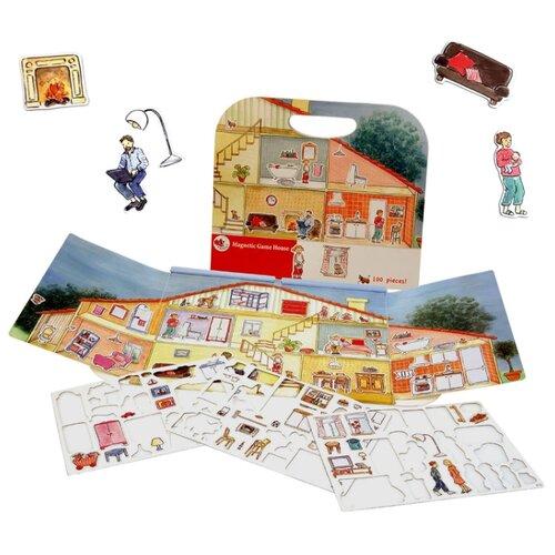 Egmont Toys Магнитная игра Дом (630652) эгмонт магнитная игра egmont toys в гостях у мишки