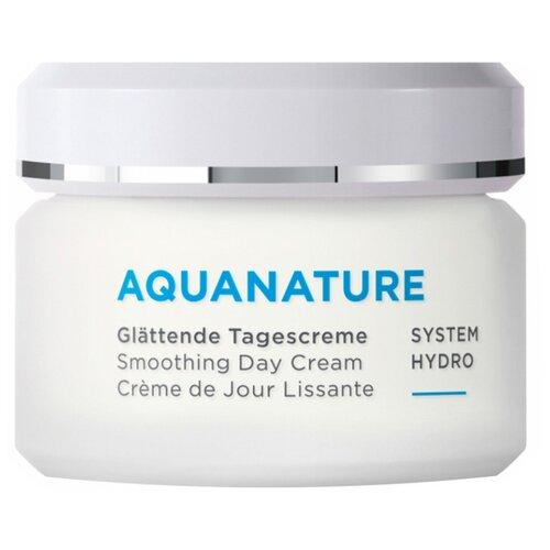 Annemarie Borlind Aquanature Smoothing Day Cream Разглаживающий дневной крем для лица, 50 мл