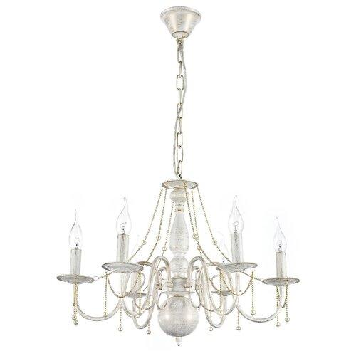 Люстра Arti Lampadari Camerino E 1.1.6 WG, E14, 240 Вт люстра arti lampadari tarsia tarsia e 1 1 8 wg