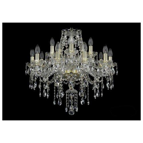 Фото - Люстра Bohemia Ivele Crystal 1415 1415/10+5/220/G, E14, 600 Вт люстра bohemia ivele crystal 1415 1415 20 10 5 400 xl 180 3d g e14 1400 вт