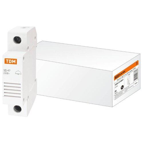 Акустический извещатель/зуммер TDM ЕLECTRIC ЗД-47 SQ0215-0001